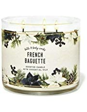 Bath & Body Works French Baguette Scented 3-Wick Candle 14.5 oz