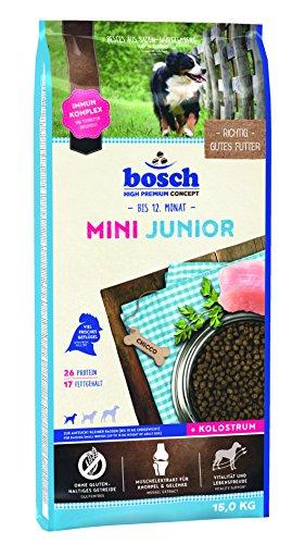 bosch Hundefutter Mini Junior, 1er Pack (1 x 15 kg)