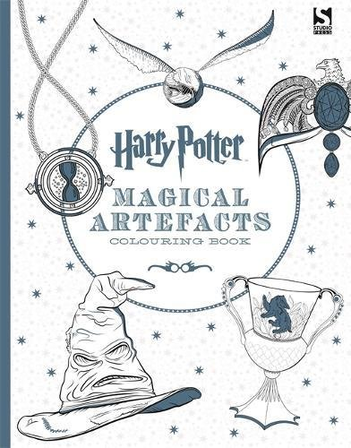 Harry Potter Magical Artefacts Colouring Book 4 Amazon