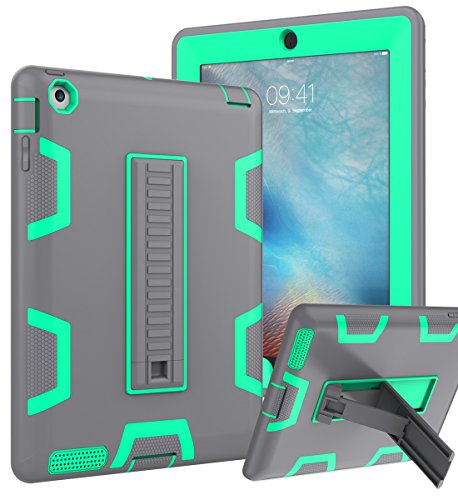 iPad 2 Case,iPad 3 Case,iPad 4 Case, TOPSKY ,Shockproof/High