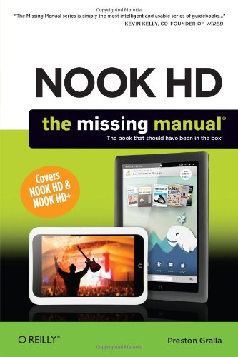 NOOK HD: The Missing Manual (Best Comic App Android)