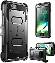 iPhone 8 Plus Case, [Armorbox] i-Blason built in [Screen Protector] [Full body] [Heavy Duty Protection ] Shock