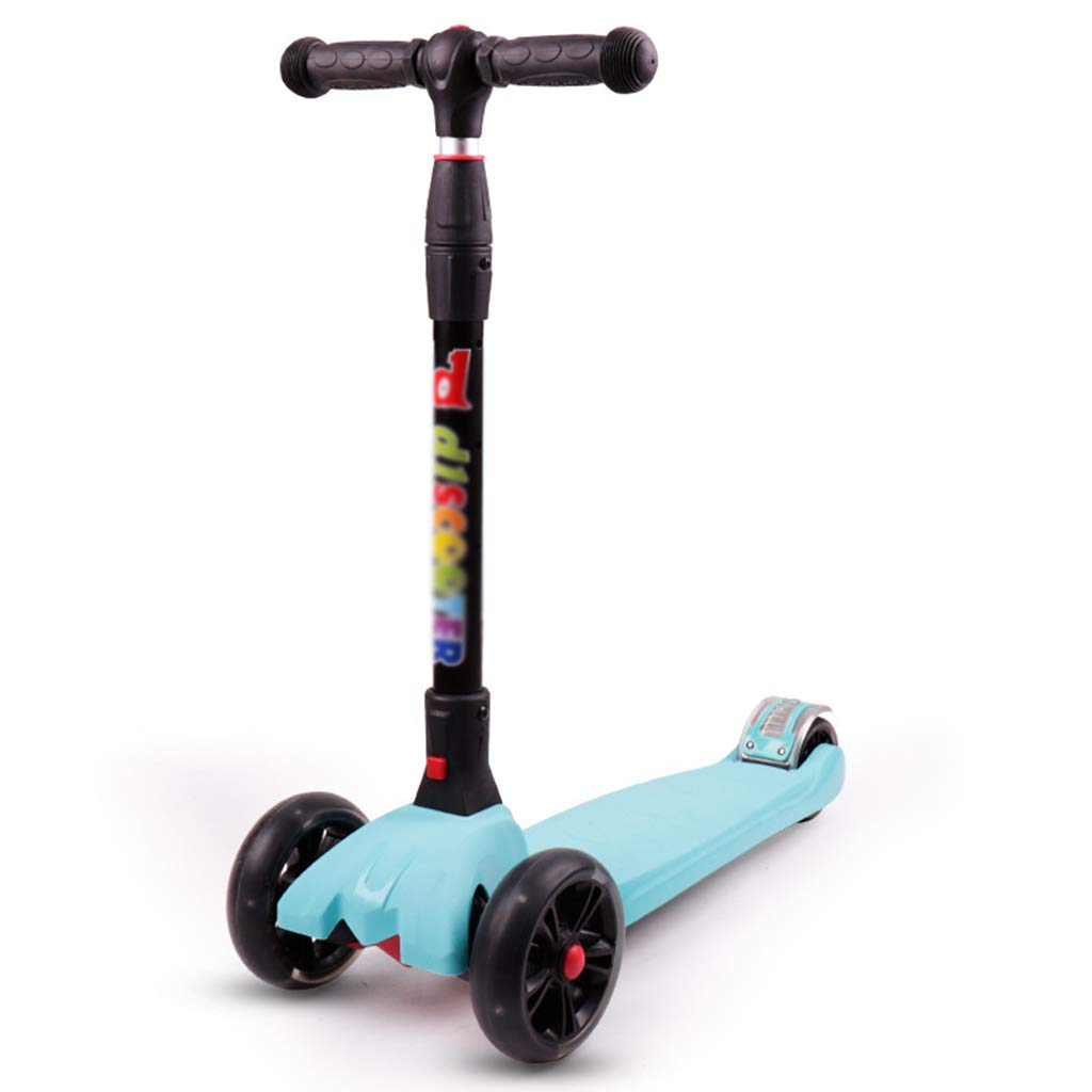 almacén al por mayor Sky azul scooter scooter scooter Kick Plegable de 2 a 14 años de Edad, con Ruedas Intermitentes para niños, niños pequeños niñas o niños, Juguete niños al Aire Libre con Altura Extra Ancha y Ajustable  productos creativos
