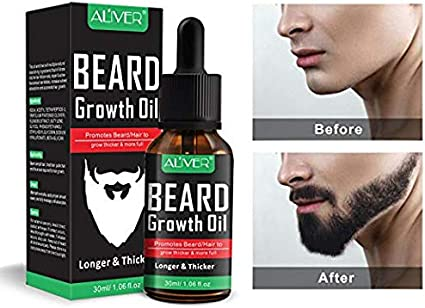 Hot 1 Aceite Estimulante De Crecimiento Para Barba Y Bigote Mejor Que La Crema Health Personal Care