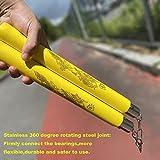 WTJMOV Nunchucks, Safe Foam Rubber Training