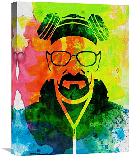 "Naxart Studio Walter White Breaking Bad Giclee on canvas, 18"" by 1.5"" by 24"" from Naxart Studio"