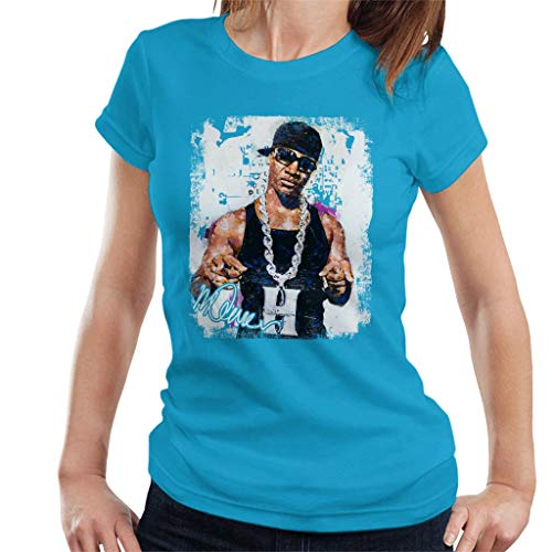 Sidney Maurer Original Portrait of Young Jeezy Hustle Chain Women's T-Shirt