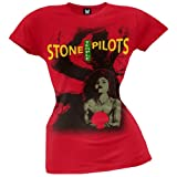 Stone Temple Pilots - Mens Redcore T-shirt Medium Red