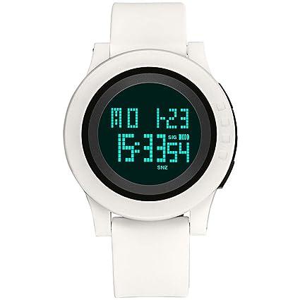 DSADDSD # Reloj Digital Impermeable para Hombre Deportes Impermeable Reloj Estudiante Multi-función Electrónica Reloj