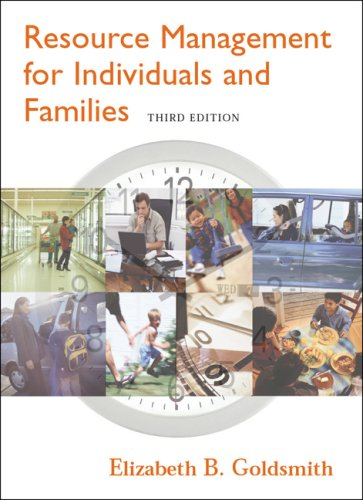 Resource Management for Individuals and Families (with...