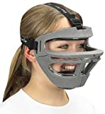 Markwort Game Face Sports Safety Mask, Grey, Medium
