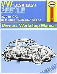 VW 1302S Super Beetle Owners Workshop Manual (Haynes Service and Repair Manuals)