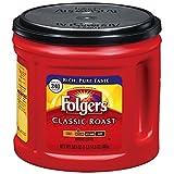 Folgers Classic Roast Ground Coffee, 30.5 oz