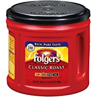 Folgers Classic Roast Ground Coffee 30.5-oz. Canister