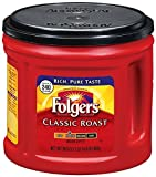 Image of Folgers Classic Roast Ground Coffee, 30.5 oz