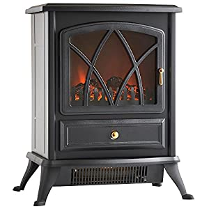 Amazon.com: VonHaus Free Standing Electric Stove Heater Portable ...