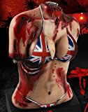 Dead Island: Riptide - Zombie Bait UK / Great Britain Flag Bikini Bust Statue Only [ NO Game]