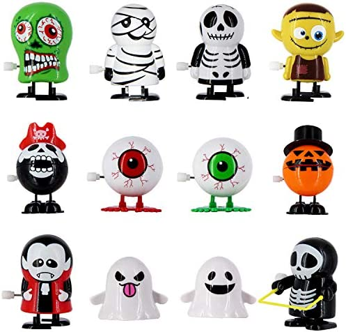 51UvvzfzAxL. AC  - heytech 12 PCS Wind-up Toys for Halloween Assorted