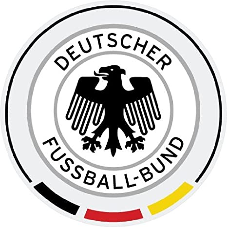 Germany National Team Soccer Football Car Bumper Sticker Decal 5/'/' x 5/'/'