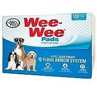 Almohadillas absorbentes Wee-Wee de Four Paws, para perros, 100 unidades, originales (cachorros): 22,5 € X 23 €