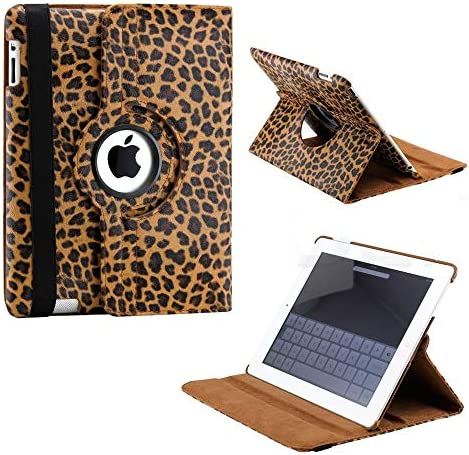 Apple Rotating Magnetic Leather Leopard
