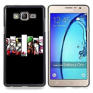 """Qstar Arte & diseño plástico duro Fundas Cover Cubre Hard Case Cover para Samsung Galaxy On7 O7 (Héroes P0kemon"""")"""
