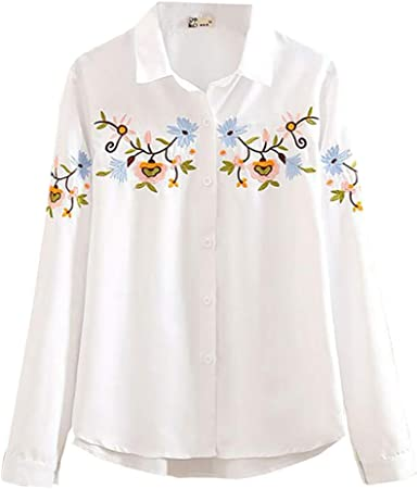 Fossen Blusas para Mujer Verano Otoño 2019 Elegantes - Suelta ...