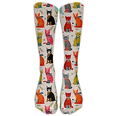 Cat Fan related Products FUNINDIY Cat Ladies Compression Socks Soccer Socks High Socks... [tag]