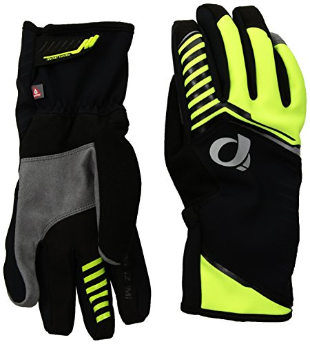 Izumi Pearl Nylon Gloves (Pearl iZUMi Pro Amfib Gloves, Screaming Yellow, Medium)