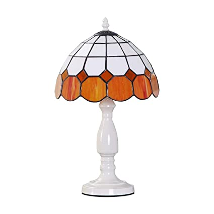 premium selection 31271 4fa98 Amazon.com: YYF Orange Mediterranean European Bedside Table ...
