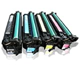 Global Cartridges Premium Quality Remanufactured Toner Cartridge Set Replacement for HP 504A/504X CE250X,CE251A,CE252A,CE253A (Black,Cyan,Magenta,Yellow)