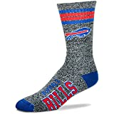 Buffalo Bills NFL Got Marbled? Crew Socks - Large