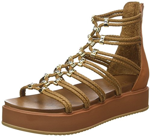 Inuovo 7113, WoMen Gladiator Sandals Beige (Coconut)