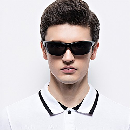 Amazon.com: Chouhob - Gafas de sol clásicas polarizadas con ...
