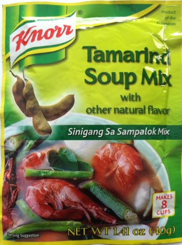 Knorr Vegetable Soup Mix (2-pack of Knorr Tamarind Soup Mix (40g))