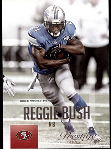 Football NFL 2015 Prestige #199 Reggie Bush 49ers