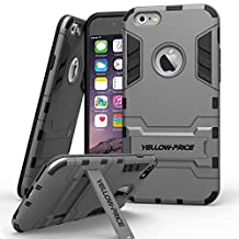 Dual Layer Shockproof KickStand Armor Case for iPhone 5 5s SE 6 6s 7 Plus Moto G2 HTC M9 LG G4 (For iPhone 6 / 6S)