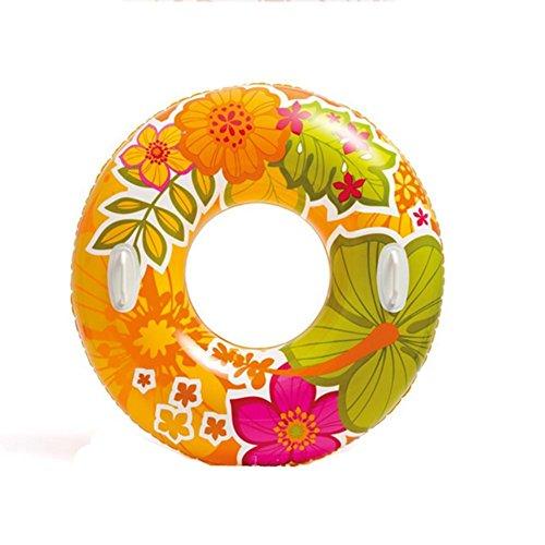 natation bouée anneau flottant adulte gonflables cercle XG siège Couleur anneau transparent clapote de assis natation XSatq6