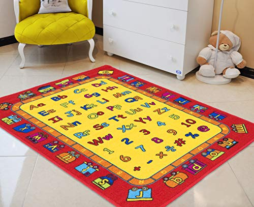HR'S 8FTX11FT KIDS EDUCATIONAL/PLAYTIME RUG 7FT.4INX10FT.4IN for sale  Delivered anywhere in USA