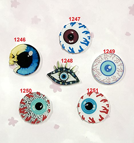 style custom made to order personalized attention badge cartoon acrylic influx of people brooch pin no eye Cock burst