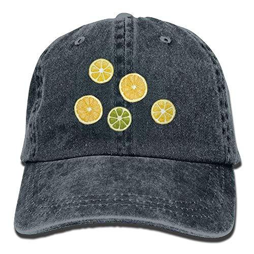 Skull Men JHDHVRFRr Hat Cowgirl Cap Denim Lemon Cowboy for Sport Hats Women Pick RRHpIxq