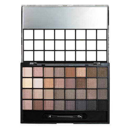 e.l.f. Eyeshadow 32 Piece Palette, Natural, 0.99 Ounce