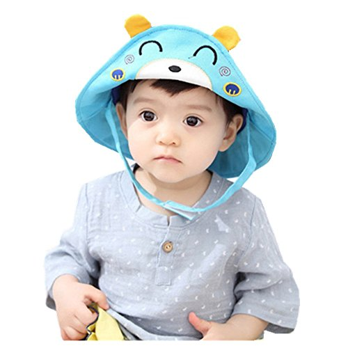 gemini-fairy-sun-protection-hat-bear-bucket-cap-with-wide-brim-for-lovely-baby-1-3-year-old-bear-1