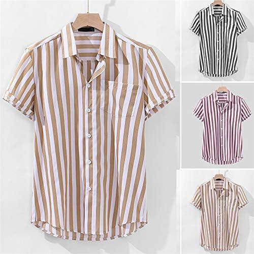 SFYZY Moda Hombre Casual Manga Corta Camiseta Slim Fit Camisa ...