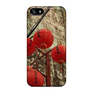 For Iphone 5/5s Fashion Design Chinsan Wall Case-WMFvKDS2391xxZGN