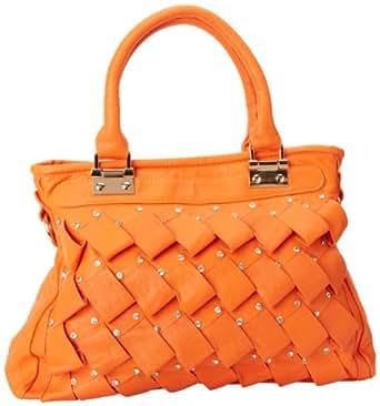 IMoshion Tiara 7729A Tote,Orange,One Size