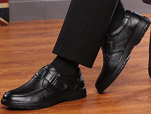 da Scarpe Scarpe E Uomo Medie Vecchie Scarpe Casual Pelle Black da Uomo Singoli Scarpe in Ygy4xdaWYq
