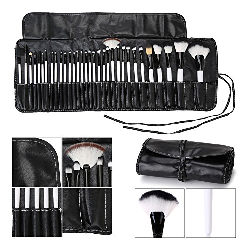 Hotrose� 32 Pcs Professional Makeup Brush Set with a Free PU Leather Bag