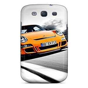 Durable Case For The Galaxy S3- Eco-friendly Retail Packaging(orange Mini)