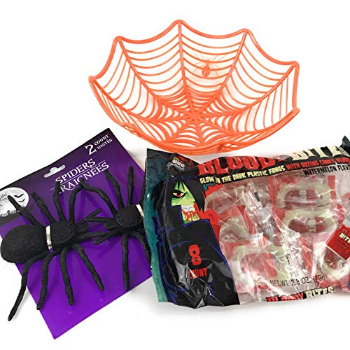 4 Pc Spider Web Candy Gift Bundle:1-9